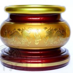 Lư hương đồng (đỏ - A8)