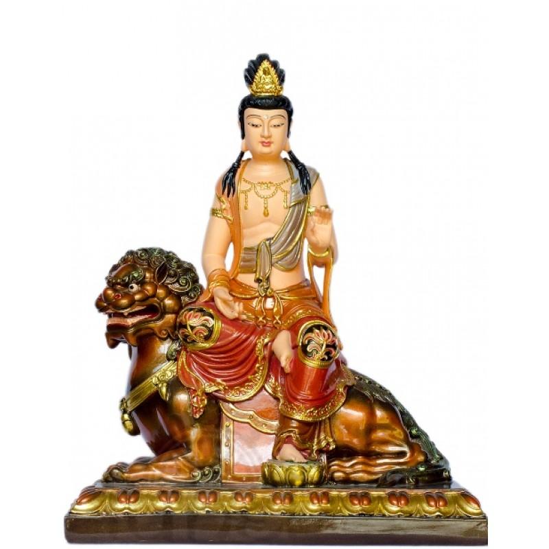 Văn Phù - Phổ Hiền (vẽ màu - 40cm)