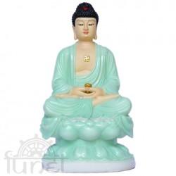 A Di Đà ngồi (đá xanh - 30 cm)